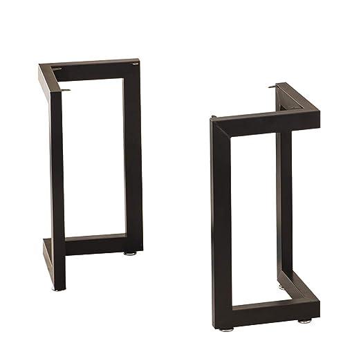 Patas de mesa de metal, marco de escritorio, soporte de mesa de ...