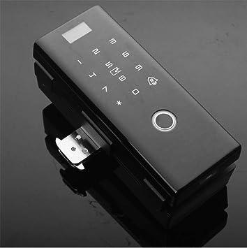 Tqing Cerradura Inteligente, Cerradura de Huella Digital, Caja de Oficina Doble Abierto Puerta Doble Gancho App Bluetooth Smart Password Cerradura de ...
