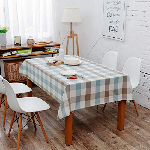 Table Cloth Cover Simple Style Waterproof CottonTablecloths RectangularTable Cover Picnic Mat Carpet -