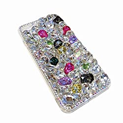 Full Color Rhinestone With TPU Mobile Case