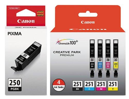 Genuine Canon PGI 250 6497B001 6513B004 product image