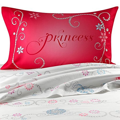 Disney Princess Tiara Full Size Sheets Set
