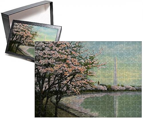 Photo Jigsaw Puzzle of Washington - Japanese Cherry Blossoms - Potomac Park