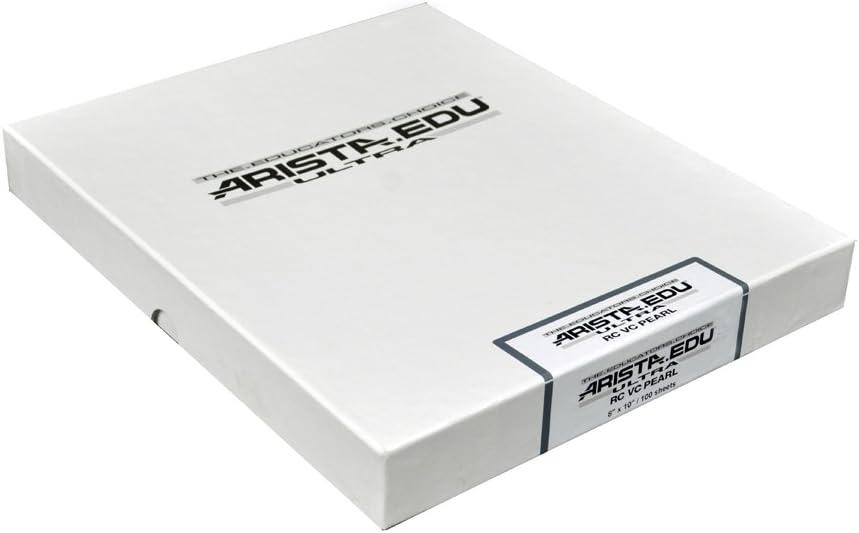 Pearl 11x14 Arista EDU Ultra VC RC Black /& White Photographic Paper 25 Sheets