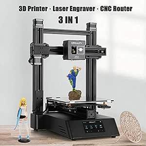 Creality 3 en 1 - Máquina de grabado láser y fresadora CNC para ...