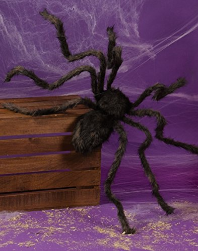 50 Inch Posable Furry Spider (Assorted Colors)]()