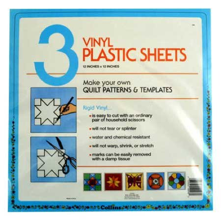 (Quilter's Plastic Template 12x12