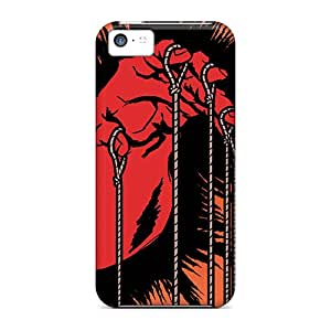 Marycase88 Iphone 5c Shock Absorbent Hard Phone Cases Support Personal Customs Colorful Metallica Image [FDN3051nUxe]