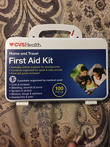 Home and travel first aid kit by CVS Health