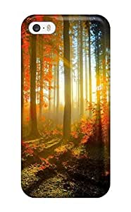 Snap On Hard Forest Hd Protector For Iphone 5/5S Phone Case Cover