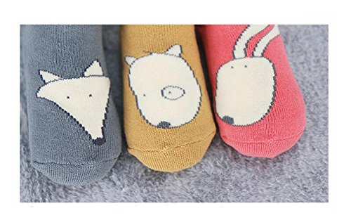 Baby 3D Anti-Slip Socks Set of 3 - 8