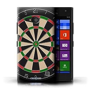 STUFF4 Phone Case / Cover for Nokia Lumia 735 / Darts Design / Games Collection