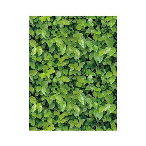 Celiy  3D Wall Sticker 1/10 Meters Green Meadow Effect Self-Adhesive Wall Sticker