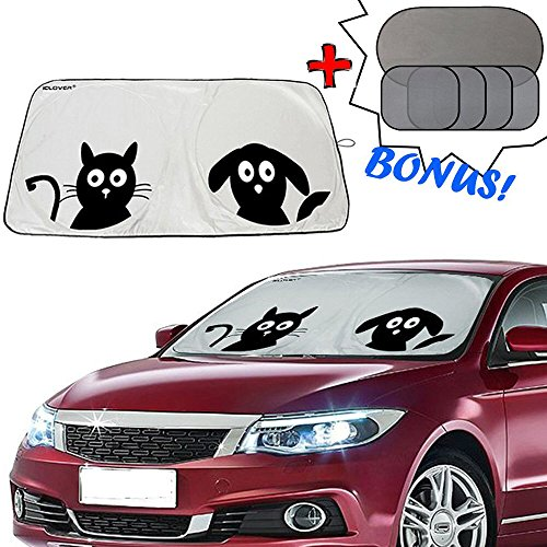 Windshield Sunshade IC ICLOVER Protector product image