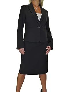 Ladies Tweed Jacket Skirt Suit Burgundy Black Special Occasion NEW Size 6-8