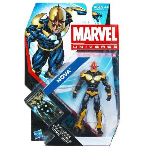 Marvel Universe Series 4 Action Figure    019 Nova 3.75 Inch by Hasbro eea7cd