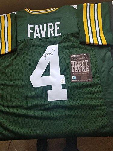 Brett Favre Autographed Jersey Authentic (Favre hologram