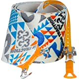 G3 Alpinist High Traction Skins - 115mm / Short - Blue/Grey/Orange