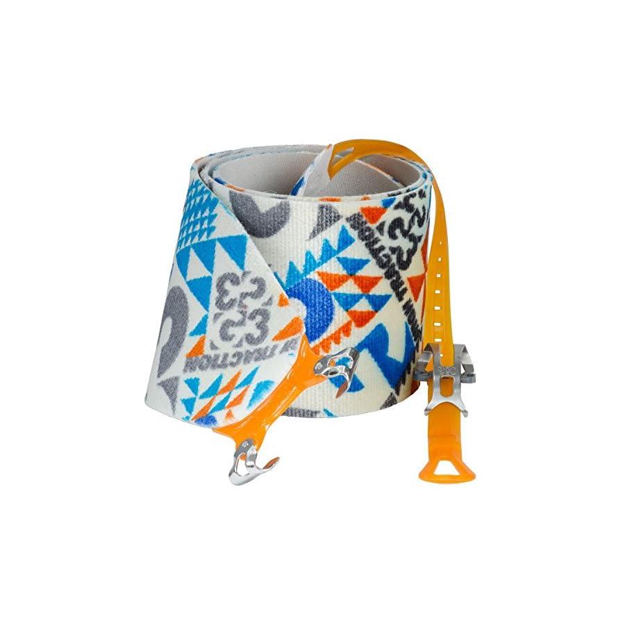 G3 Alpinist High Traction Skins 130mm / Medium Blue/Grey/Orange