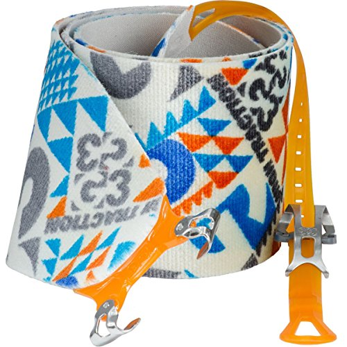 G3 Alpinist High Traction Skins - 115mm / Short - Blue/Grey/Orange by G3 GENUINE GUIDE GEAR