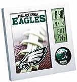 NFL Philadelphia Eagles Digital Desk Clock