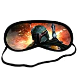 Custom Boba Fett Star Wars Sleeping Mask, Comfortable Soft Cotton Sleeping Aids Eye Mask Cover...