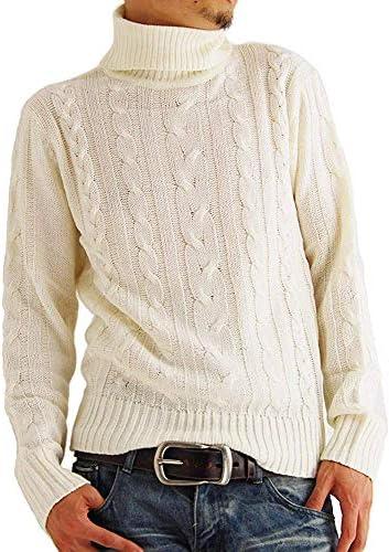 (アーケード) ARCADE メンズ ニット セーター タートルネック ケーブル編み ニットセーター 秋 冬
