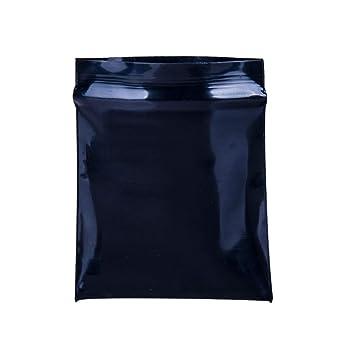 Amazon.com: Bolsas de polietileno con cierre de cremallera ...