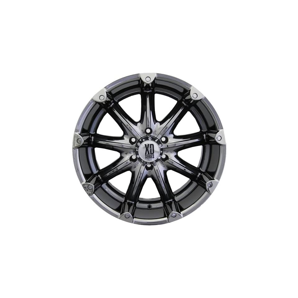 XD XD779 18x9 Black Chrome Wheel / Rim 8x170 with a  12mm Offset and a 125.50 Hub Bore. Partnumber XD77989087912N