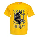 T Shirts For Men Eat Sleep Skate Skateboard Review and Comparison