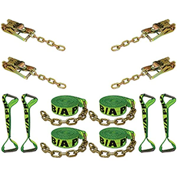 BA Products 38-RSP-4-x8 Rollback /& More! for Wrecker Crane Set of 8 Tow Truck 4 Purple Round Sling