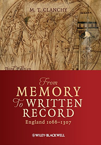 From Memory to Written Record: England 1066 - 1307 [Michael T. Clanchy] (Tapa Blanda)
