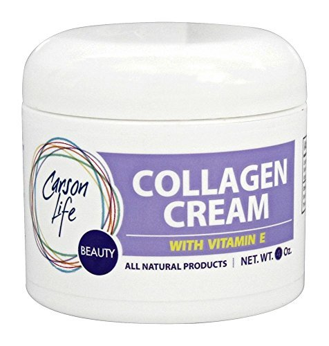 Carson Life - Collagen Beauty Cream With Vitamin E - 4 oz. - Hydrates for smoother skin - Made in USA by Carson Life