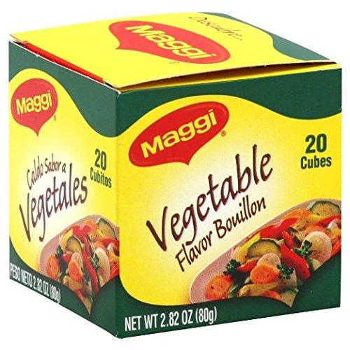 Maggi Bouillon Cube Vgtbl 20ct