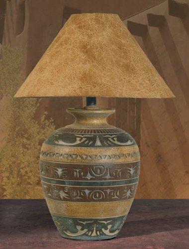 (Anthony California Haze Saddle Southwest Table Lamp 30