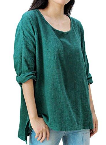 Futurino - Camiseta - para mujer verde oscuro