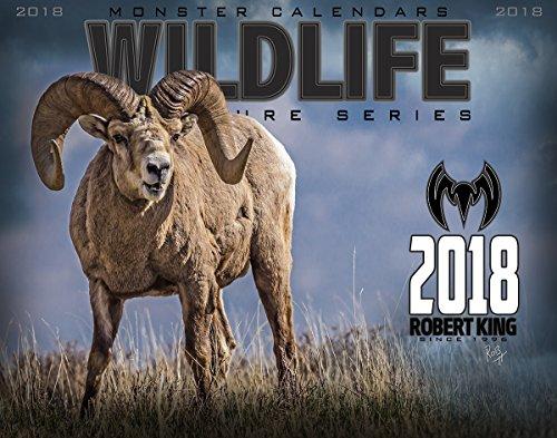 Camo Wildlife Series (Monster Camo - 2018 Wall Signature Series Calendar by Robert King, Wildlife)