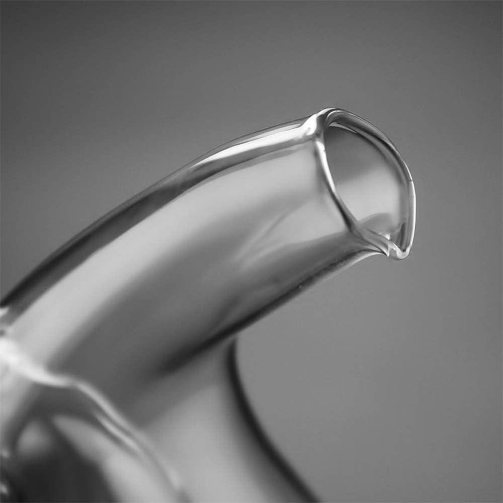 SUIE Oil and Vinegar Dispenser 2-in-1,Glass Oil Vinegar Cruet in ...