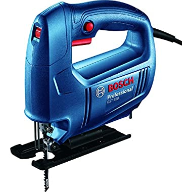 Bosch 06015A80F0 GST 650 Professional Jigsaw, Blue 6