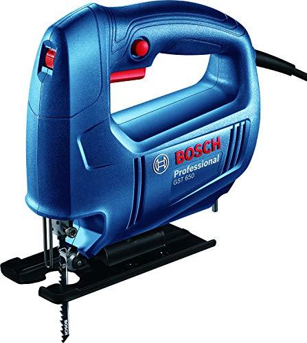 Bosch 06015A80F0 GST 650 Professional Jigsaw, Blue 1
