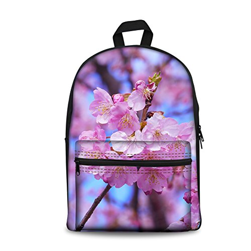 al Floral CC6017J K Coloranimal Mujer Cherry Bolso Butterfly Hombro Blossoms para 4Rg7x