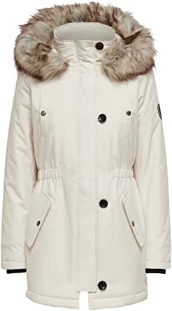 Only Onliris Fur Winter Parka CC Otw Chaqueta para Mujer
