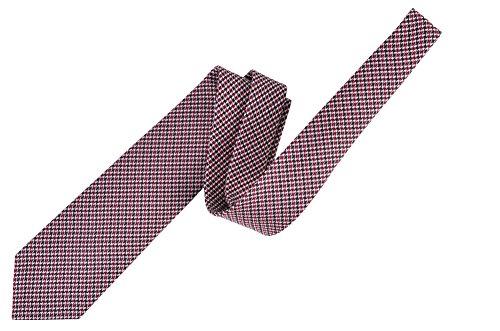 Tom Ford Red Silk Skinny Neck Tie by Tom Ford..