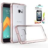 Best Kickstands For HTCs - HTC 10 Clear Case With HD Screen Protector Review
