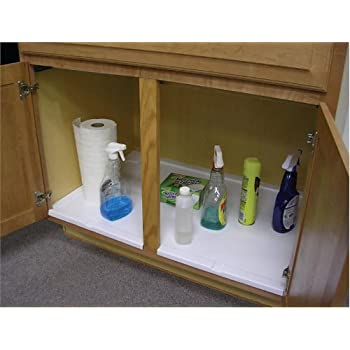 Amazon Com Vance Trimmable Under Sink Tray For 33 In
