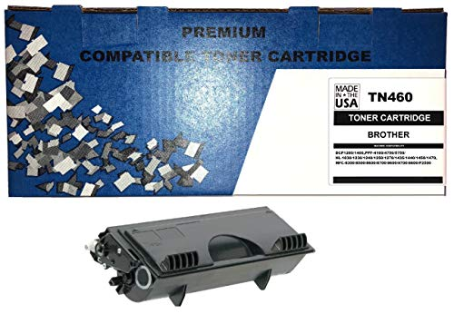 - ALL CITY USA REMANUFACTURED TONER CARTRIDGE REPLACEMENT FOR BROTHER TN460 TN430 - DCP1200/1400,PPF-4100/4750/5750,HL-1240/1250/1270/1435/1440/1450/1470, MFC-8300/8500/8600/8700/9600/9700/P2500 (BLACK)