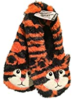 Jacques Moret Womens Furry Critters Slipper Socks