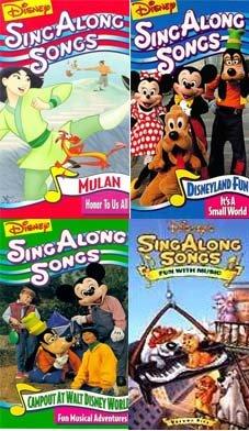 Amazon Com Disney S Sing Along Songs Pack 4 Mulan Sing Along