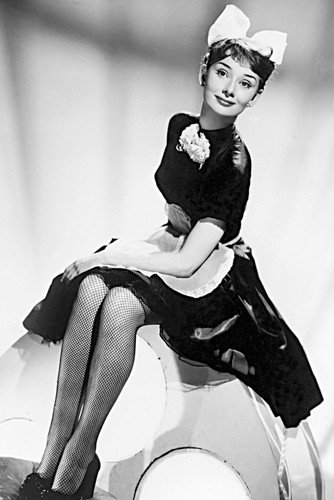 Audrey Hepburn Laughter in Paradise 1951 sexy pose 24×36 Poster