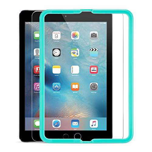 iPad Air 2 / iPad Air / iPad Pro 9.7 Screen Protector [Tempered Glass] ESR Ultra Clear HD protective Film Bubble Free with Self-Installation Tool for Apple iPad Air /Air 2 /iPad Pro 9.7 inch Tablet